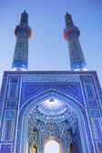 Jame Mosque of Yazd. Night View — Stock Photo