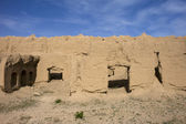 Desert Village in Iran. — Stock Photo