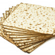 Stack of unleavened bread — Stock Photo