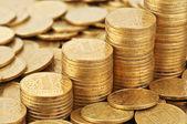 Metal coins — Stock Photo
