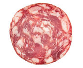 Slice of salami — Stock Photo