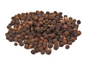Black pepper grains — Stock Photo