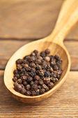 Pepper grains — Stock Photo
