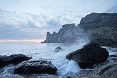 Stones and the sea — Stock Photo