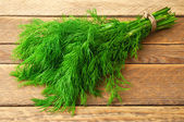 Bunch of dill — Stock Photo