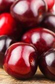 Ripe cherries (merries) — Stock Photo