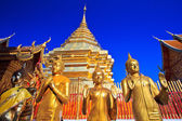 Wat phra That Doi Suthep,Temple Chiang Mai Province Thailand — Stock Photo
