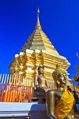 Wat phra That Doi Suthep,Temple Chiang Mai Province Thailand — Stock Photo