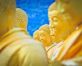 Buddha statues , gold buddha, Thailand ,Asia — Stock Photo