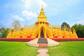 Pagoda and stupa in thailan — Stock Photo