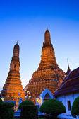 Vecchio tempio wat arun a bangkok in Thailandia — Foto Stock