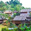 Resort and hut North of Thailand — Stock Photo
