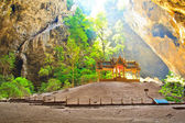Cave and pavilion asia Prachuap Khiri Khan Province thailand — Stock Photo