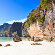 View of Maya Bay, Phi Phi island, Thailand — Stock Photo