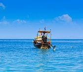 Travel holidays Snorkeling set on boat, Phi Phi Island Thailand — Stock Photo