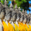 Old Temple Wat Yai Chai Mongkhon of Ayuthaya Province Thailand — Stock Photo