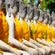 Old Temple Wat Yai Chai Mongkhon of AyuthayProvince Thailand — Stock Photo #28828161