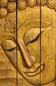 Buddha face — Zdjęcie stockowe