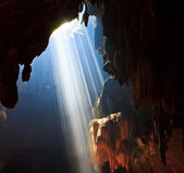 Beautiful caves in National park thailand — Stock Photo