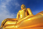 Big buddha statue at Wat muang, Thailand — Stock Photo