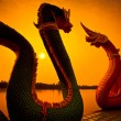 ������, ������: Sunset and dragon Serpent