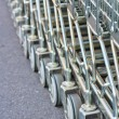 Shopping carts — Stock Photo #35948545