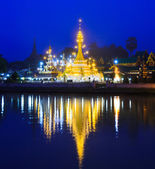 Wat Jong Klang in Maehongson — Stock Photo
