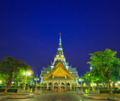 Wat So-thorn Temple in Thailand — Foto Stock
