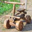 Wooden toy car — Stock Photo #36059843