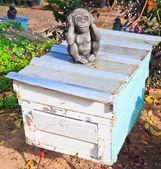 Pszczoły pszczelarstwo — Zdjęcie stockowe