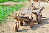 Wooden toy car — Stock Photo