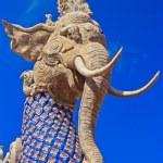 Mythical Flying Elephant — Stock Photo