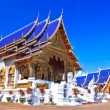Stock Photo: Wat Bden Temple Maetang