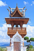 Belfry wat Ban den Temple Maetang Chiangmai — Stockfoto