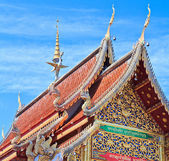Wat Ban den Temple Maetang — Stock Photo