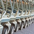 Shopping carts — Stock Photo #36070113