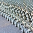 Shopping carts — Stock Photo #36070417