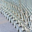 Shopping carts — Stock Photo #36070501