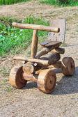 Wooden car — Stock Photo