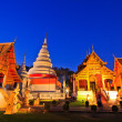 Temple twilight time — Stock fotografie