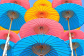 Зонты ручной работы — Стоковое фото