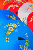 Handmade umbrella — Stock Photo