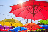 Handmade umbrella — Stock Photo