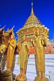Templo chiang mai provincia — Foto de Stock