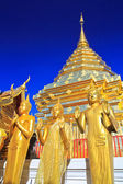 Temple Chiang Mai Province — Stock Photo
