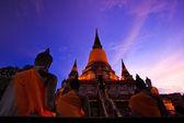 Buda eski tapınağı — Stok fotoğraf