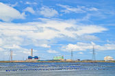 Electric power plant — Stock Photo