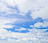 Blue sky and cloud — Stock Photo