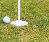 Golfbaan — Stockfoto
