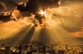 Bangkok cityscape — Stok fotoğraf